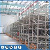 С полки стали декорированных срединном этаже для установки в стойку с SGS/ISO