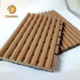 De bonnes performances acoustiques de l'acoustique de bois panneau en bois