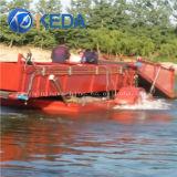 Erba acquatica anfibia automatica della mietitrice del Weed del lago che raccoglie nave