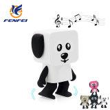 Créatif cadeau multifonction Cute Mini portable de la musique stéréo sans fil chien robot de la danse Le président
