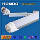 Lampada di Housing&Milky dell'obiettivo 180 del tubo di alluminio di grado 100-120lm/W T8 LED