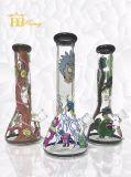 7mm 12.5inch spesso Ricky e tubo di acqua di fumo della vernice di vetro di qualità superiore della coppa di Morty