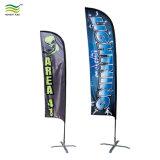 La publicité personnalisée 3m 4m 5m Beach Flag Stand Feather Drapeau Bannière de lame