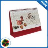 Publicidad a todo color de impresión de calendarios personalizados
