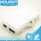 Крытый и открытый 2 порта для оптоволоконных сетей FTTH распределительной коробки