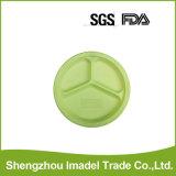 Amidon de maïs Biodegradabale Bio plaque ronde