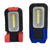 Питание от аккумулятора магнит початков 3W складные светодиодный фонарик