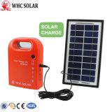 Сертификация CE 3W Переносной комплект для использования солнечной энергии