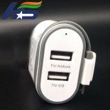 Good Looking адаптер зарядного устройства двойного назначения для мобильных телефонов с Undetachable Cabe