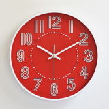 Nuevo diseño de moda el metal brillante Oro Reloj de pared decorativos