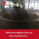 03-06 grande testa sferica del acciaio al carbonio applicata al serbatoio 6400mm*20mm
