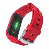 スマートなブレスレットのリアルタイムの心拍数のモニタIP68は追跡者の腕時計を防水する