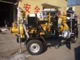 Impulsado por motor diesel bomba de agua para riego