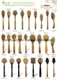 Banho de Bambu /Madeira Seca Escova do corpo da escova