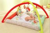 De Pluche van de Baby van drie Vrienden van het Landbouwbedrijf draagt Playmat