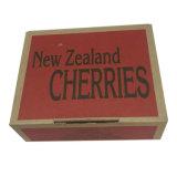 L'emballage en carton ondulé imprimé personnalisé Boîte de papier kraft pour Cherry expédition