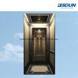 8 Personas 630 kg Elevador de pasajeros, Luxious Hotel ascensor