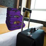 4 محدّد تعليب مكعّب - سفر منام مع مغسل حقيبة