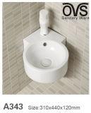 Populäre Entwurfs-Wand hing Bassin-keramische Bassin-Badezimmer-Eitelkeit