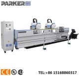 Aluminio CNC roscadora