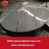 06-21 testa toriconical dell'acciaio inossidabile per la parte superiore di serbatoio tramite flusso che forma 4600mm*8mm