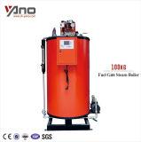0.2-1ton/h de vapor de Gas Natural Caldera/generador de vapor de gas de invernadero de plástico