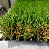 Erba artificiale d'abbellimento decorativa del giardino di prezzi di fabbrica