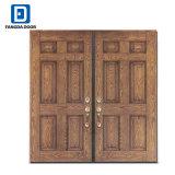 Fangda uno e portello esterno della vetroresina inserito vetro decorativo mezzo