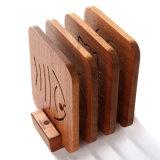 Cozinha de madeira de ébano Utilize pastilhas quentes Manta de isolamento térmico
