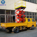 Смонтированные на грузовиках подъемный стол ножничного типа производителей с заводская цена