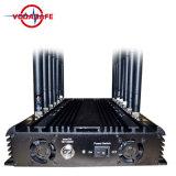 De krachtige GPS WiFi Bluetooth Lojack UHFVHF van 14 Antennes 3G 4G Stoorzender van de Telefoon, Stoorzender van het Signaal van de Macht van 14 Band de Regelbare Mobiele