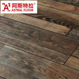 WPC deutsches Technology 12mm/8mm HDF Handscraped Grain Laminate Flooring