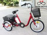 Электрический трицикл с автошиной 20 дюймов