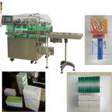 Celofán automático de la caja del condón que envuelve la máquina del Overwrapping