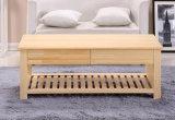 단단한 소나무 책상 현대 책상 거실 책상 탁자 형식 탁자 서랍 탁자 (M-X2036)