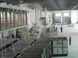 Ligne de production de fibres discontinues de polyester