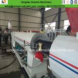 Extrusão plástica da produção da tubulação da fonte de água do gás do PVC do PE do HDPE que faz a máquina