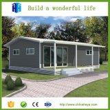 Casas modernas Prefab pequenas da configuração rápida da qualidade superior