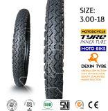 """O esporte do pneu do """"trotinette"""" do pneumático da motocicleta do velomotor cansa 3.00-18"""