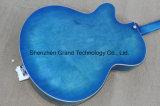 Sea Blue burst finition guitare jazz électrique de corps creux (GG-2)