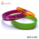 Custom напечатано спортивный силиконовый браслет для рекламных подарков