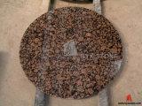 Dessus de table ronde en granit pour salle à manger, restaurant, café