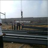 Einfach vorfabriziertes helles Stahlkonstruktion-Gebäude zusammenbauen