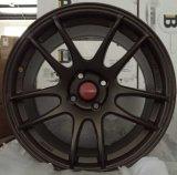 Оправа колеса алюминиевого сплава автомобиля вогнутая