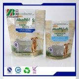 適用範囲が広いペットはジッパーが付いているプラスチック包装の食糧袋を立てる