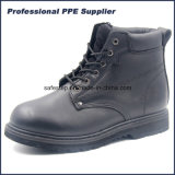 Полный ботинок безопасности ранта Confortable Goodyear кожи с сохранённым природным лицом