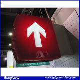 Moule en acrylique de sucer mur de la signalisation directionnelle (GD-CLG)