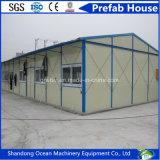 Casa modular móvil prefabricada de la vida larga de Serviece de la alta calidad de la estructura de acero