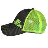 O Topi feito sob encomenda ostenta o chapéu bordado tampões do camionista do basebol do engranzamento