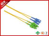 Fibre optique LX. 5 Patchcord avec gaine extérieure jaune monomode
